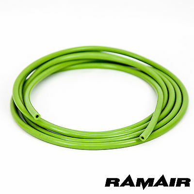 Ramair 4mm x 5m Green Silicone Vacuum Hose - Boost - Coolant Radiator Pipe Line
