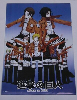 """US Seller- HOT!! 8 Pcs Anime Attack on Titan SNK Wall Posters16.5""""x11.5"""" HP01"""