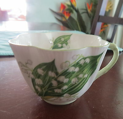 Vintage Shelley Lily of The Valley Bone China Tea Cup #13822
