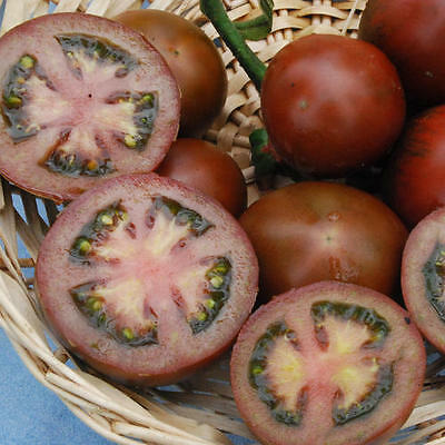 Vegetable Tomato Black Russian 300 Finest Seeds