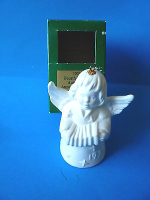 Goebel Angel Bell 1979 Fourth Edition Annual Christmas Tree Ornament