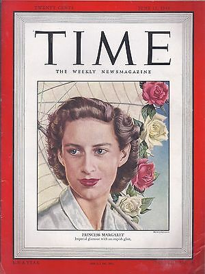 TIME - The Weekly Magazine June 13, 1949 - Princess Margaret (MT)
