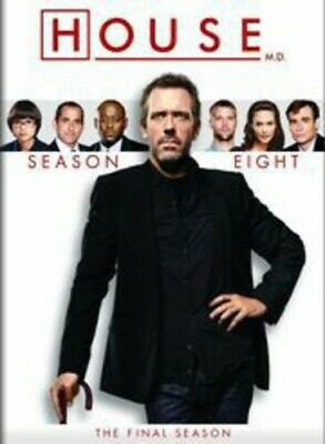 House M.D. MD ~ Complete 8th Eighth & Final Season 8 Eight ~ NEW 5-DISC DVD SET