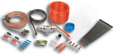 Stinger SK4681 Car Stereo 4000 Series 8 Gauge Power Wire Amplifier Install Kit