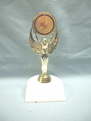 remote control insert  trophy  victory holder white base