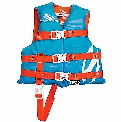 COLEMAN Stearns Classic Series Child Kid's Life Jacket Flotation Vest - 30-50Lbs