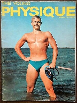 THE YOUNG PHYSIQUE vintage Beefcake Gay interest magazine February 1962