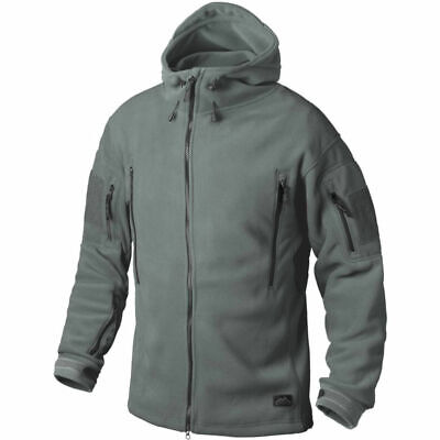 Helikon Tex Patriot Heavy Fleece Jacket Foliage Green Outdoor Jacke