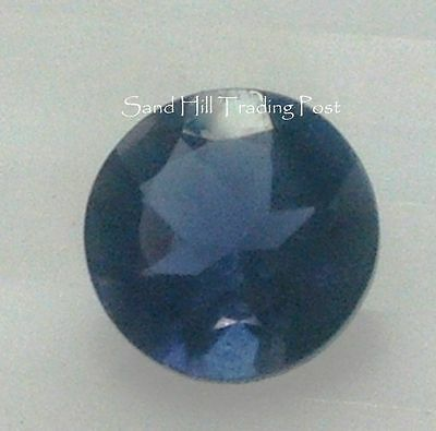 Natural 4mm Loose Round Cut .21ct Iolite AAA Quality