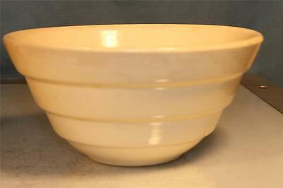 "Vintage SHAWNEE Pottery White 7"" MIXING Bowl USA #24 No Reserve"