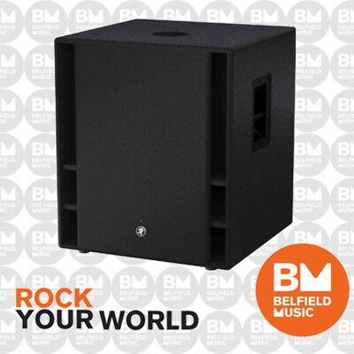 """Mackie Thump 18s Sub Woofer 1200w 18"""" Active DJ Powered Subwoofer - EX DEMO"""