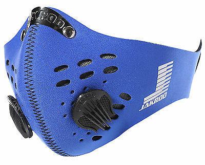Cycling Bicycle Pirate Blue Anti-dust Half Face Mask Veil Filter Motor MTB Bike