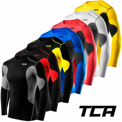 Men's Boy's TCA SuperThermal Compression Armour Base Layer Top Under Shirt Skins