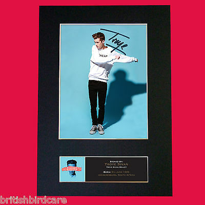 TROYE SIVAN Signed Autograph Mounted Photo Repro A4 Print 521