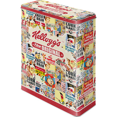 Nostalgische Blechdose/Vorratsdose Xl 30308 - Kellogg´S The Original Collage