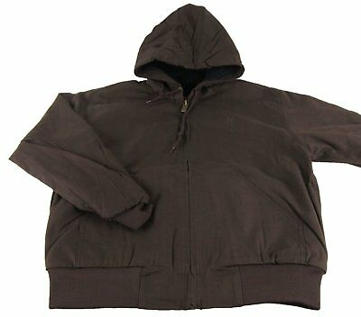 65ff13080c Mens NWT Browning Buckmark Hooded Cotton Canvas Brown Jacket Size M XL 2XL