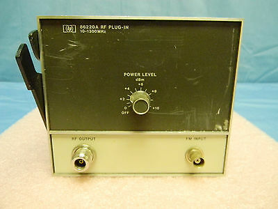 HP 86220A RF Plug-In 10-1300MHz TESTED Works GREAT