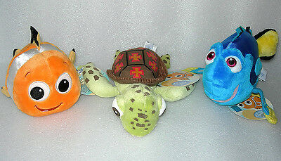 Tomy Disney Baby Finding Nemo Plush Soft Toy Rattle - Age 0+ - BNWT