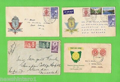 #d131. Eight  Australian Stamped Envelopes & Covers