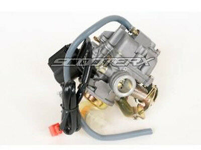 125cc 150cc 24mm Carburetor Gy6 Carb Quad Moped Street Scooter Performance Carb