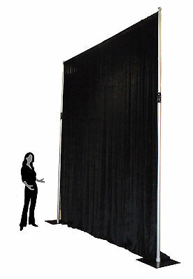 4.2m max high- Aluminium Pipe and Drape support system adjustable backdrop stand