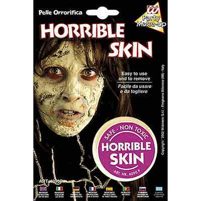 Pelle Orrorifica Make Up Trucco Viso  Halloween