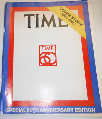 Time Magazine Special 60th Anniversary Cover Story 1923-1982 090114R