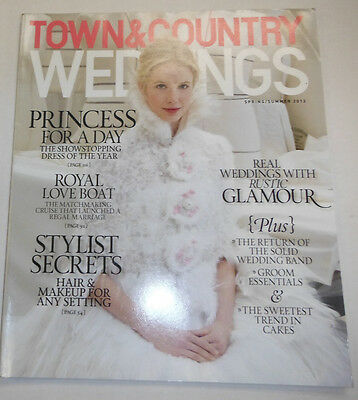 Town & Country Weddings Magazine Princess For A Day Spring/Summer 2013 090314R2
