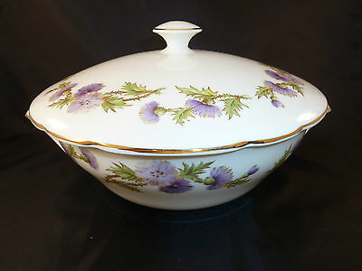 Paragon Highland Queen Round Covered Vegetable Bowl 8""