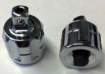 "Gearwrench 231063GR 3/8"" Drive x 1/4"" Square Pass-Thru Adapter 2pcs"