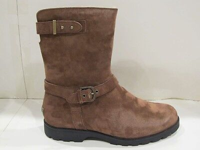 1e41f3aa493 NEW IN BOX UGG Australia Womens W Brown Grandle Suede Leather Winter Boots 5