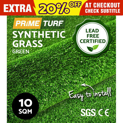 10 SQM Synthetic Turf Artificial Grass Plastic Green Plant Lawn Flooring 10mm