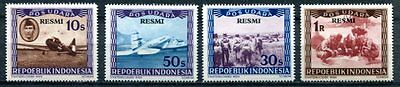 Indonesia 1948 Airplanes - Aviation Mint Complete  Set Of 4 - $10.50 Value!