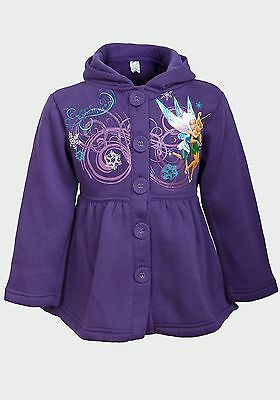 Disney, Purple, Button Up Hooded Polyester Jacket/coat Age  3 Years