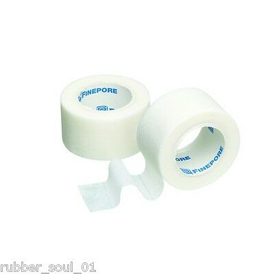 1 x FINEPORE Surgical Tape 1.25cm x 9.1m