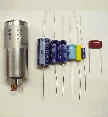 Collins KWM-2 & KWM-2A NEW Capacitor Replacement Kit