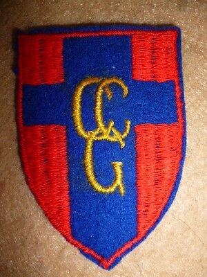Control Commission Germany Formation Patch - UK / Canadian