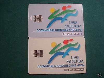 Russia - Rusia - Moscow Sport Games 1998- Chip - A003