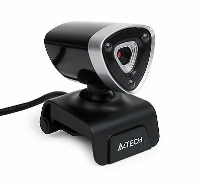 A4Tech 1080p Full HD 16MP Webcam with Mounting Clip for Laptops & Monitors