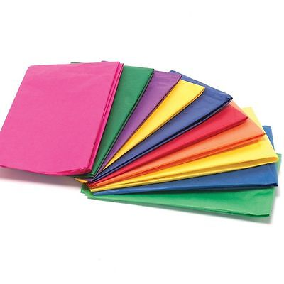 Mixed Tissue Paper - 100 Sheets - High Quality & Acid Free - 500mm x 750mm