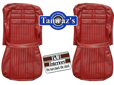 1963 Impala Front Seat Covers Upholstery PUI New