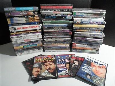 85843 LOT 90+ DVD Video Movies Assorted Genre Films TV Shows AS PICTURED