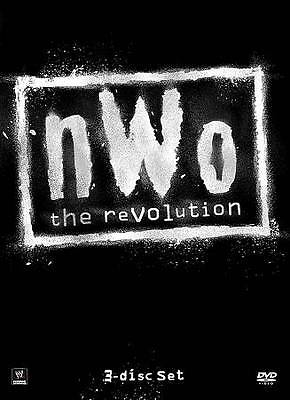 MUST HAVE- BN-WWE: NWO - The Revolution (DVD, 2012, 3-Disc Set)