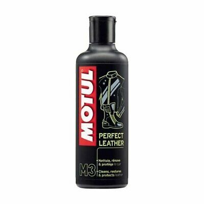Pulitore Pelle, Cuoio - Motul M3 Perfect Leather per Giacca, Stivali Moto-250 ml