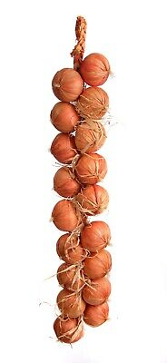 Best Artificial 80cm Onion String ( 18 Onions ) Vegetable Realistic Display New