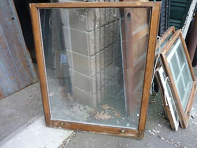 """c1900 ANTIQUE single pane window SALVAGed from local victorian home 34 x 41"""""""