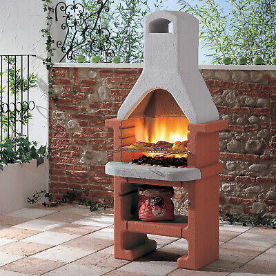 Fire Mountain Corea Masonry Charcoal Barbecue BBQ FREE P&P