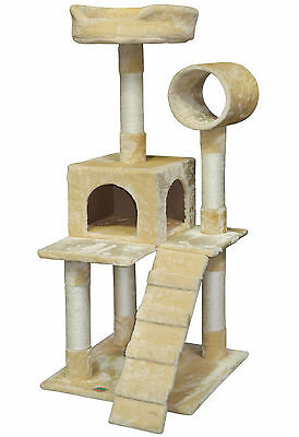 """GoPetClub 50"""" Cat Tree House Toy Condo Pet Furniture Bed F75"""