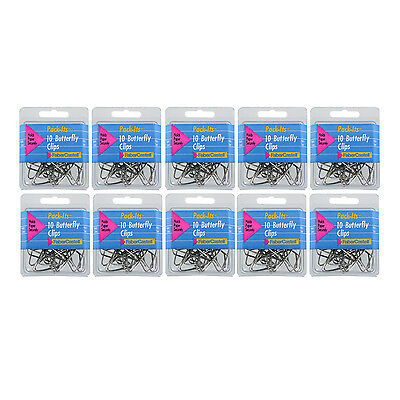 FaberCastell Pack-Its Butterfly Paper Clips, 120 Count (83859)
