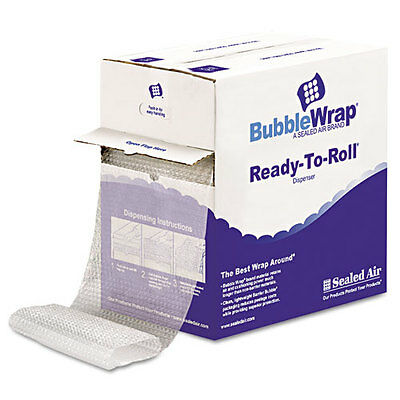 "Sealed Air Bubble Wrap, Cushion Bubble Roll, 1/2""""Thick, 12 In.x65ft (SEL90065)"